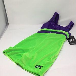 GK Elite Sportswear CM Unitard Gymnastics